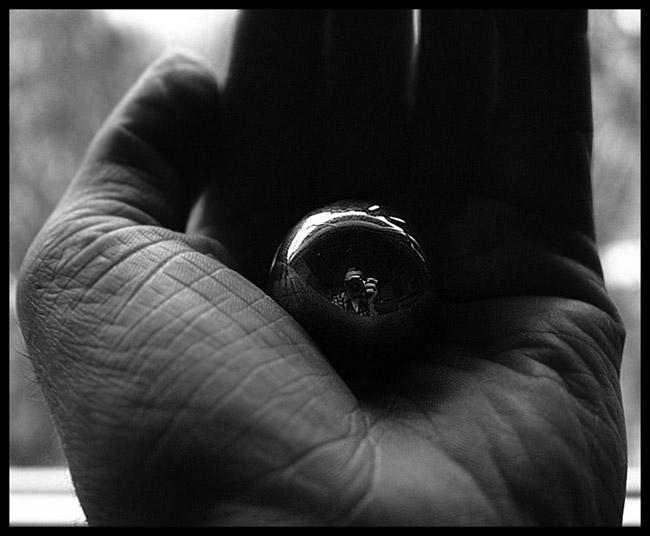 gespiegelte kugel