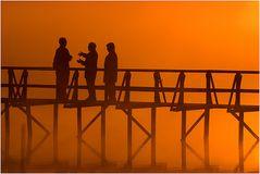 Gespräche bei Sonnenaufgang