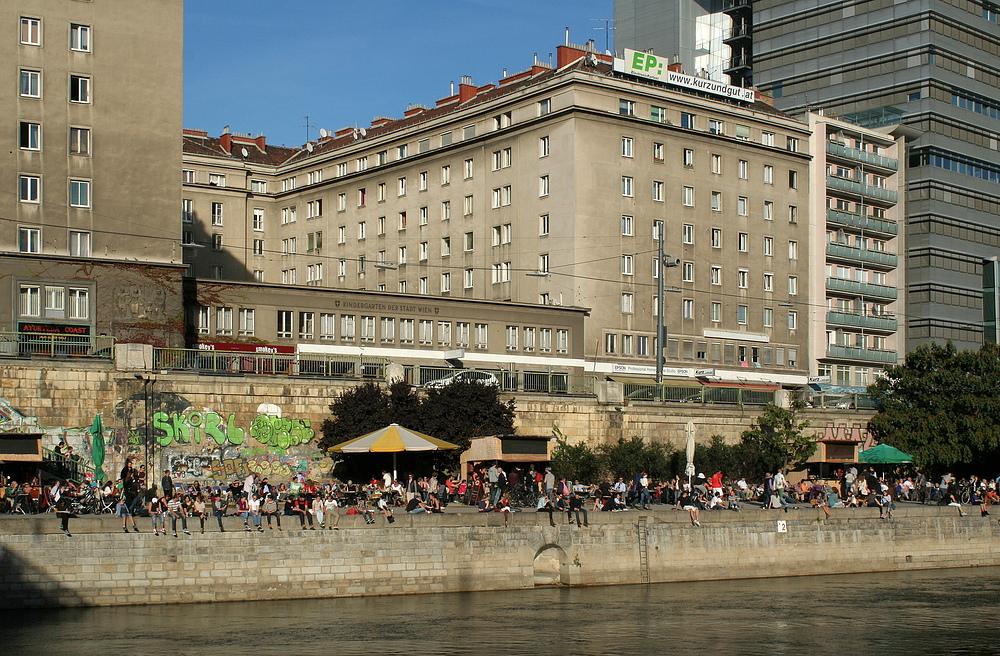 Gestern am Donaukanal