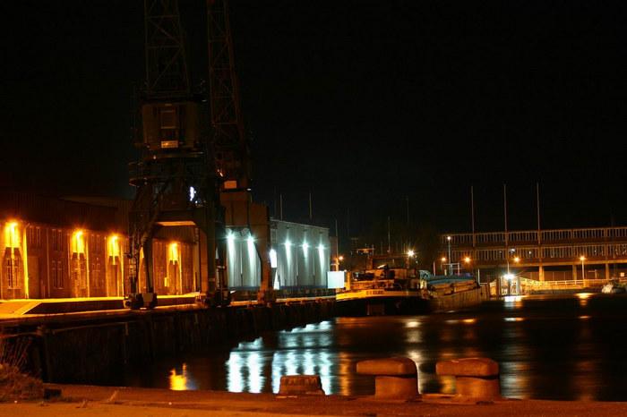 gestern am Hafen