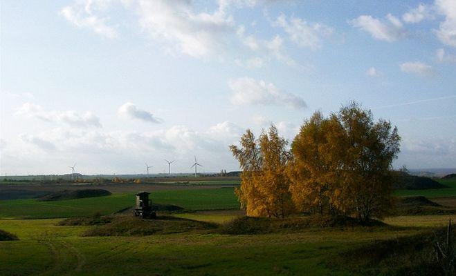 Gestern Bergbau, heute Felder