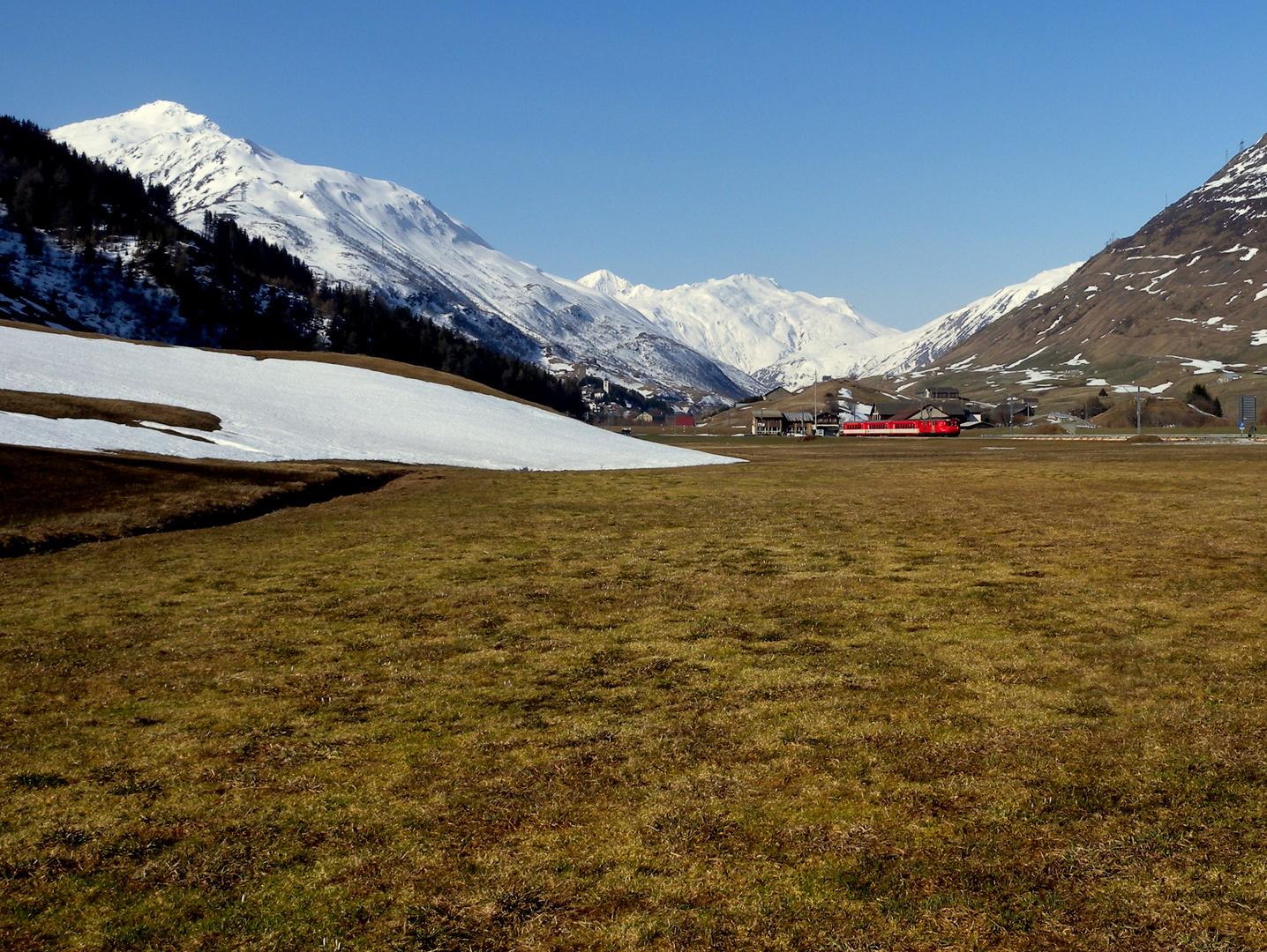 Gestern in den Bergen / Hier dans les montagnes / Ayer en las montañas..02