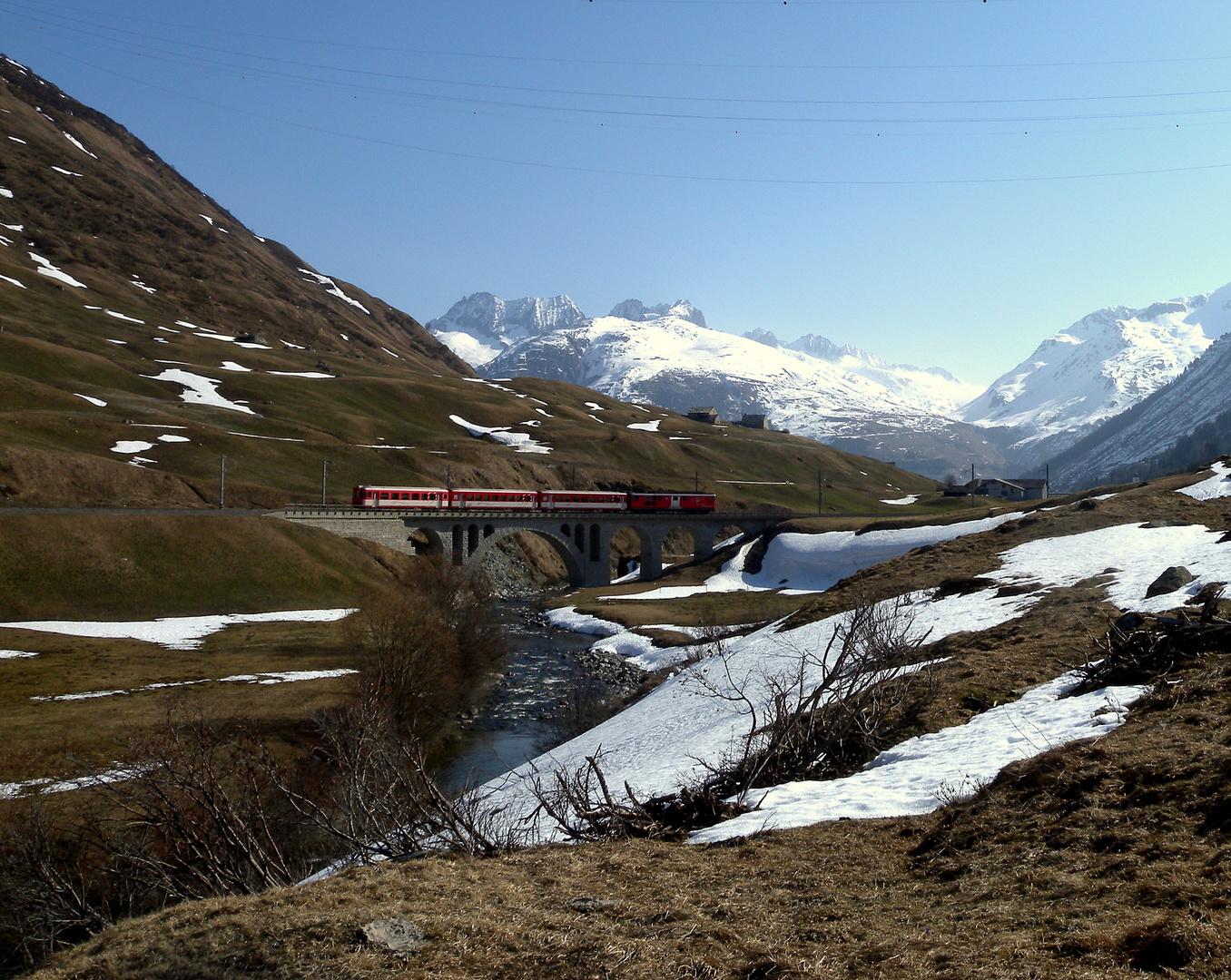 Gestern in den Bergen / Hier dans les montagnes / Ayer en las montañas..03