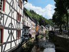 Gestern in Monschau/Eifel