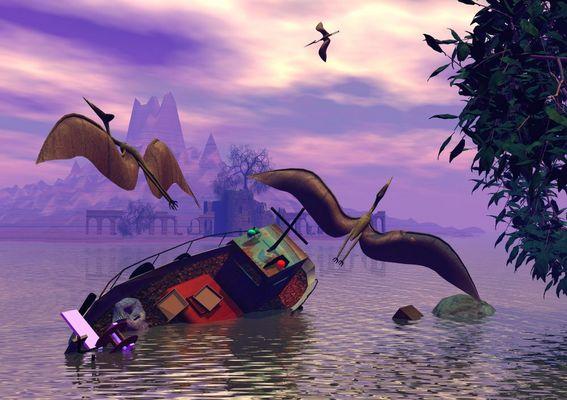 Gestrandet................... (aus der Serie Neverland2)