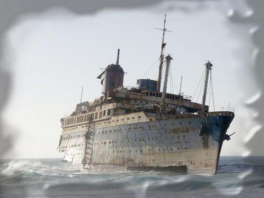 Gestrandet im Atlantik