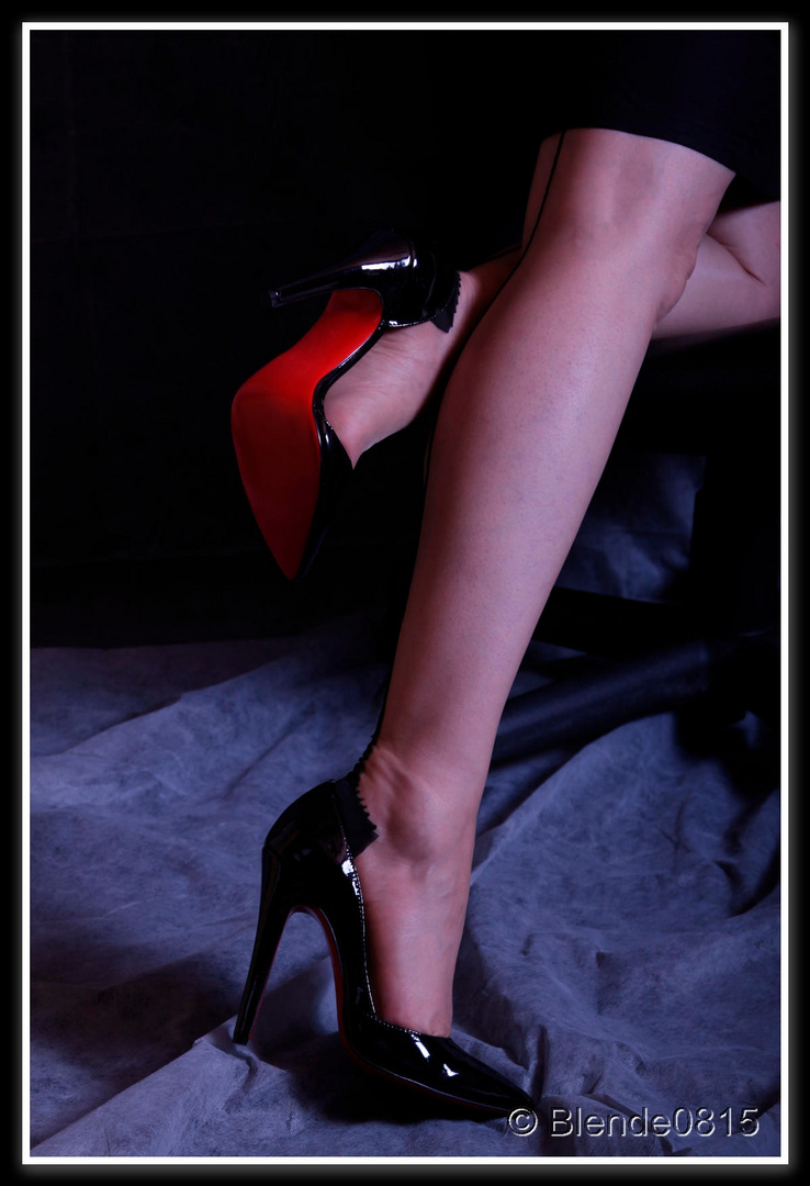 gestrecktes Bein