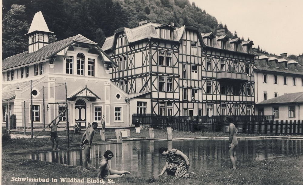 Gesundheitstherme Wildbad um 1917