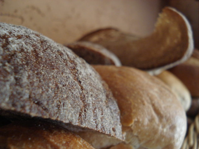 Getrocknetes Brot