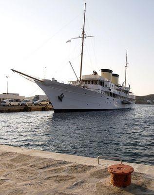 """Getty-Motoryacht """"Talitha G"""""""