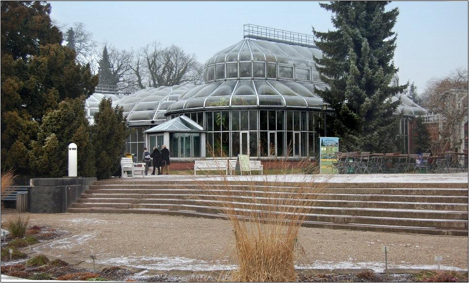 Gewächshaus im Botanischen Garten in Berlin
