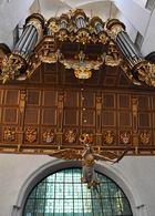 Gewaltiges Orgelwerk