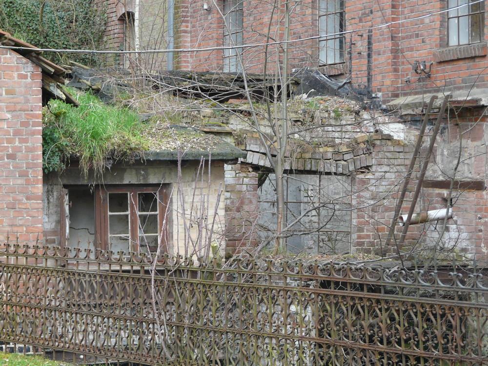 Gewesen, die stillgelegte Ölmühle in Einbeck