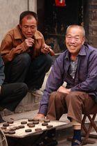 Gewinner beim chinesischen Schachspiel