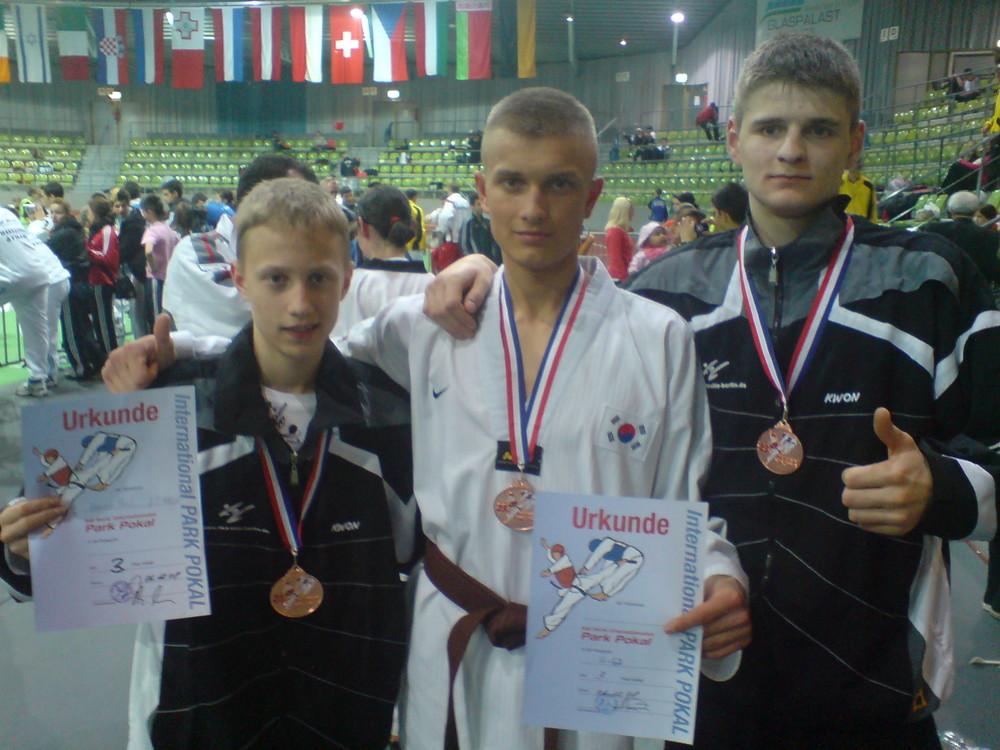 Gewinner beim größten Turnier von Europa im Taekwondo
