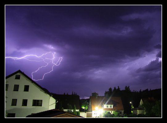Gewitter 22.07.09 Bad Lauterberg