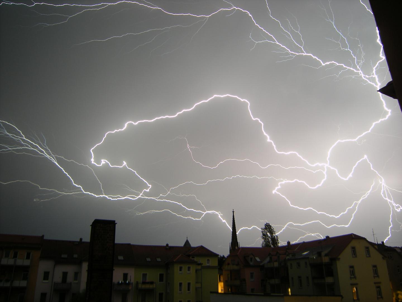 Gewitter am Abend 2