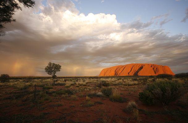Gewitter am Uluru