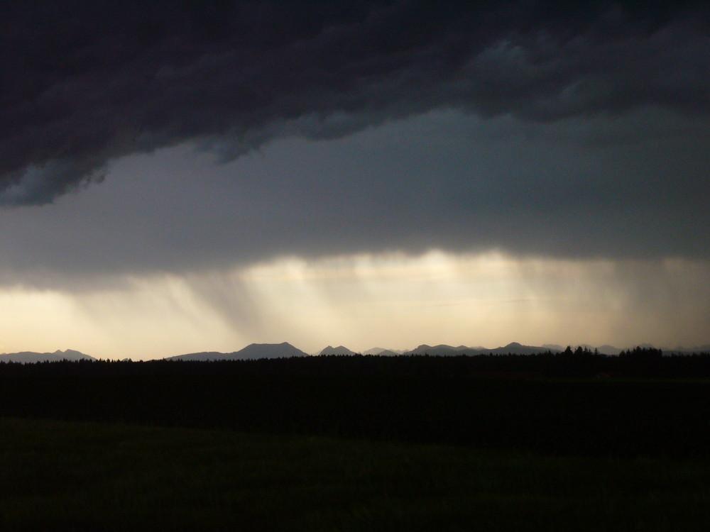 Gewitter bei Aying