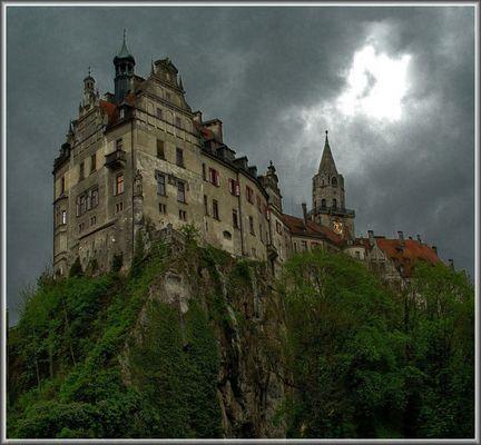 Gewitter ( Das Schloß Sigmaringen)