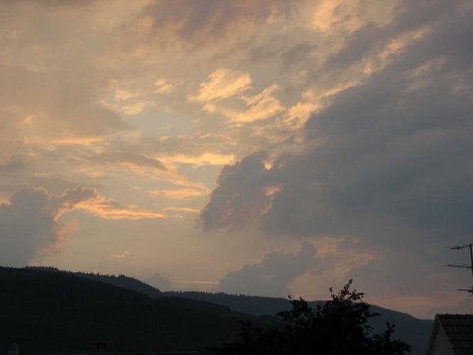 Gewitter im Elsaß