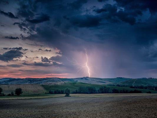 Gewitter in der Crete