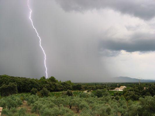Gewitter in der Provence