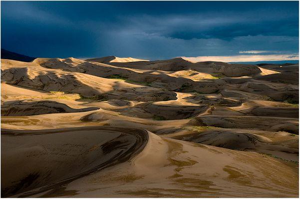 Gewitter in der Wüste?