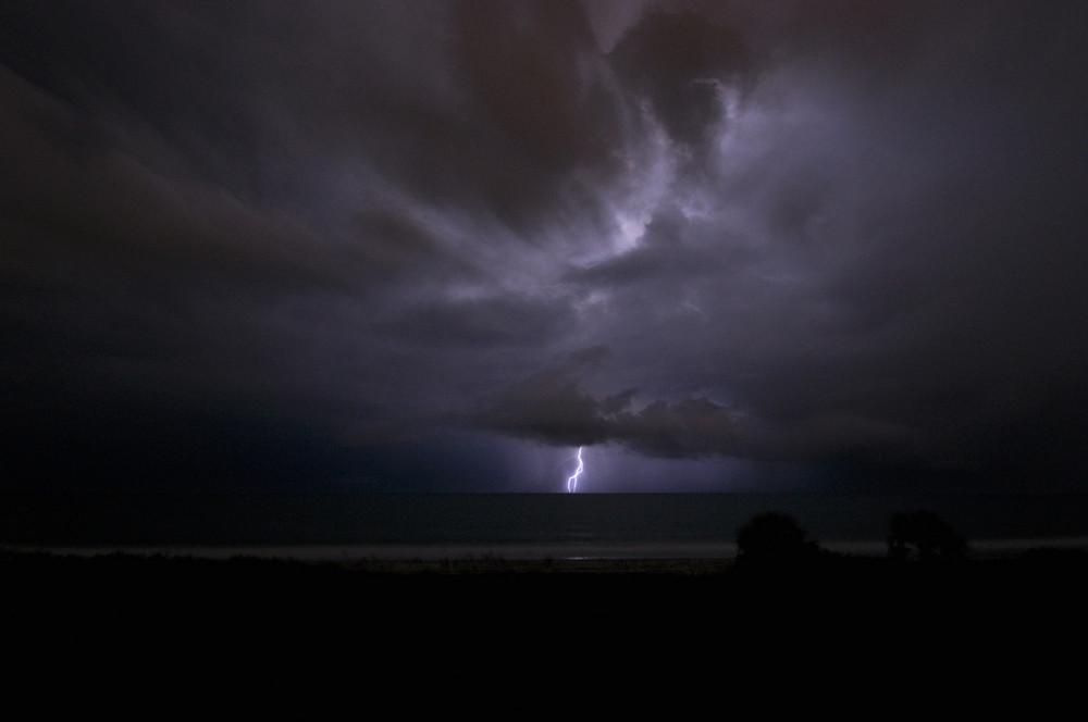 Gewitter in Florida überm Atlantik II