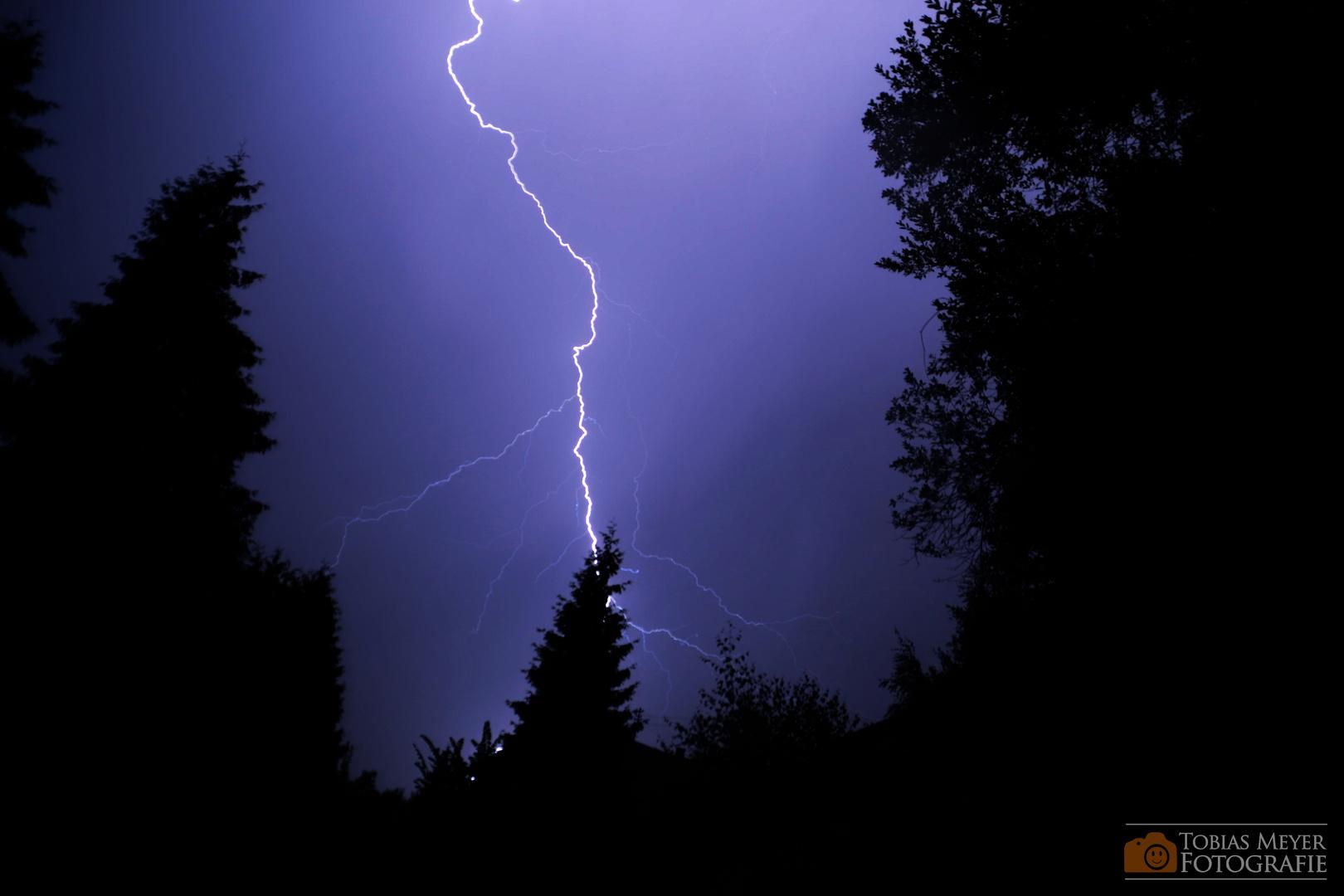 Gewitter über Cham