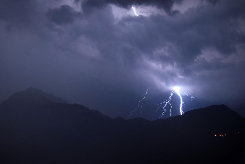 Gewitter über dem Comer See Fortsetzung