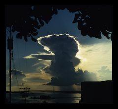 Gewitter über dem Orinoco