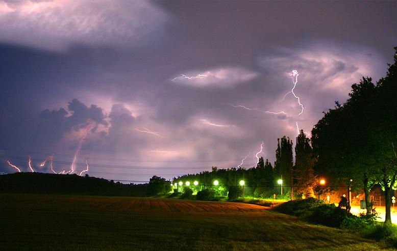 Gewitter über dem Ruhrgebiet