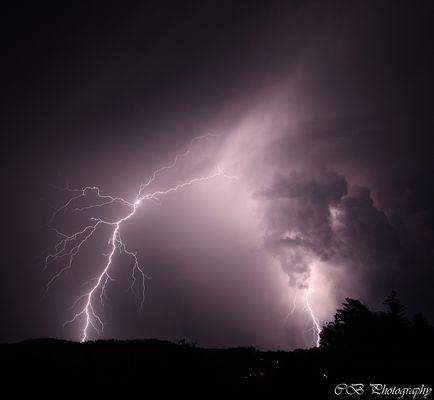 Gewitter über dem Süd-Osten von Graz [Break Out]