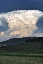 Gewitter über der Wasserkuppe, oder doch der letzte aktive Vulkan der Rhön?