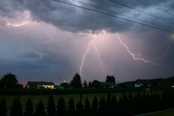 Gewitter über Graz II