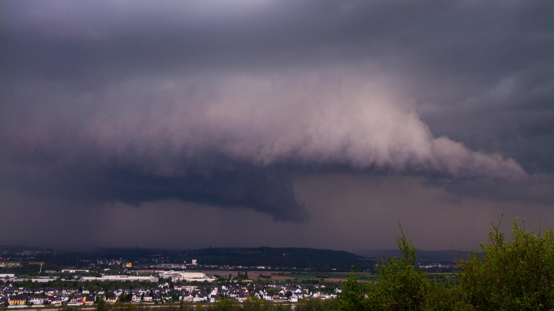 Gewitter über Koblenz 2