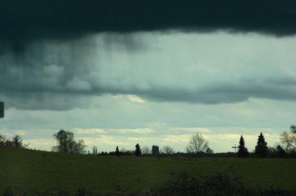 Gewitter über Mettmann