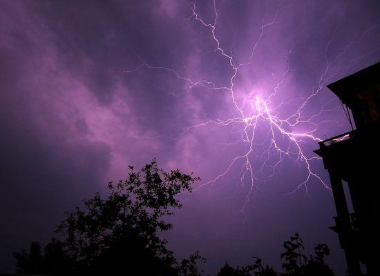 Gewitter über Norderstedt