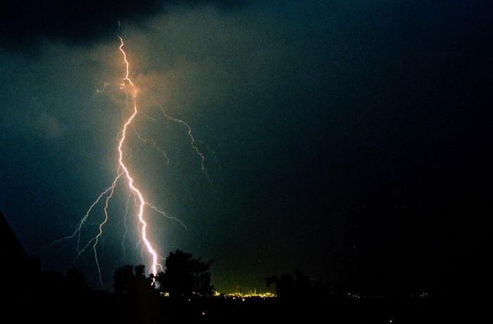 Gewitter über NRW 3