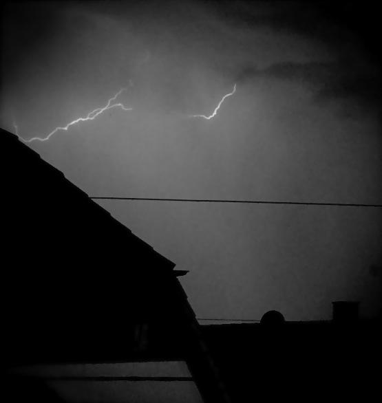 Gewitter über Ostfildern