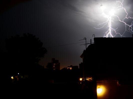 Gewitter über Port Elizabeth (South Africa)