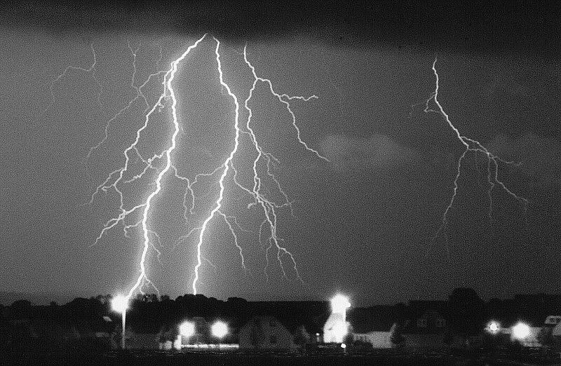 Gewitter über Schwedt 2