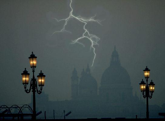 Gewitter über Venedig