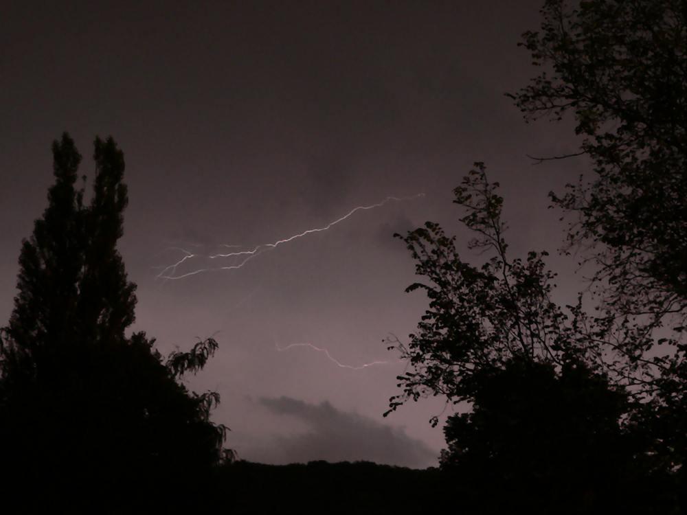 Gewitter über Wuppertal