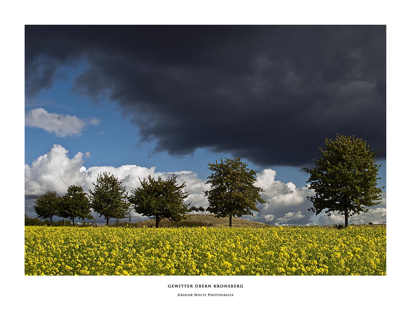 Gewitter übern Kronsberg