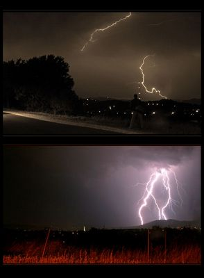 Gewitterfotografie - das erste mal