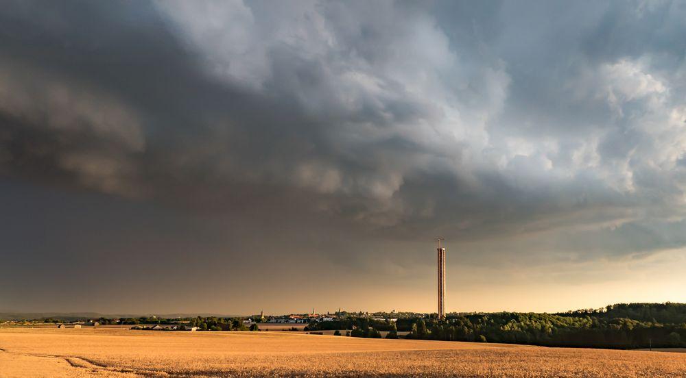 Gewitterfront 2 Tyssen-Tower Rottweil