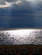 Gewitterhimmel am Strand von Rhodos