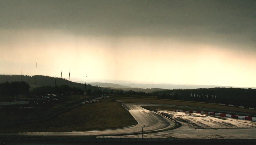 Gewitterimpression am Nürburgring